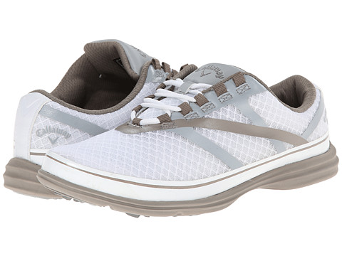 Callaway - Solaire SE (White/Silver/Silver) Women's Golf Shoes