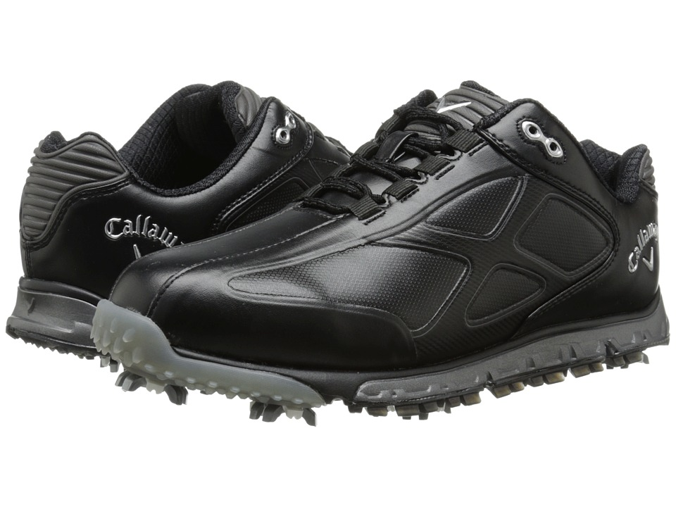 Callaway - Xfer Pro (Black/Black) Men's Golf Shoes