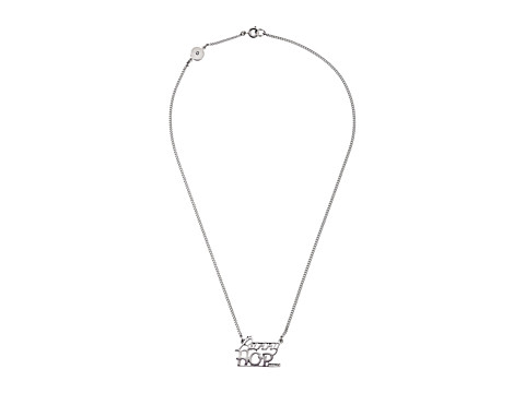 Marc by Marc Jacobs - Bunny Hop Nameplate Necklace (Argento) Necklace