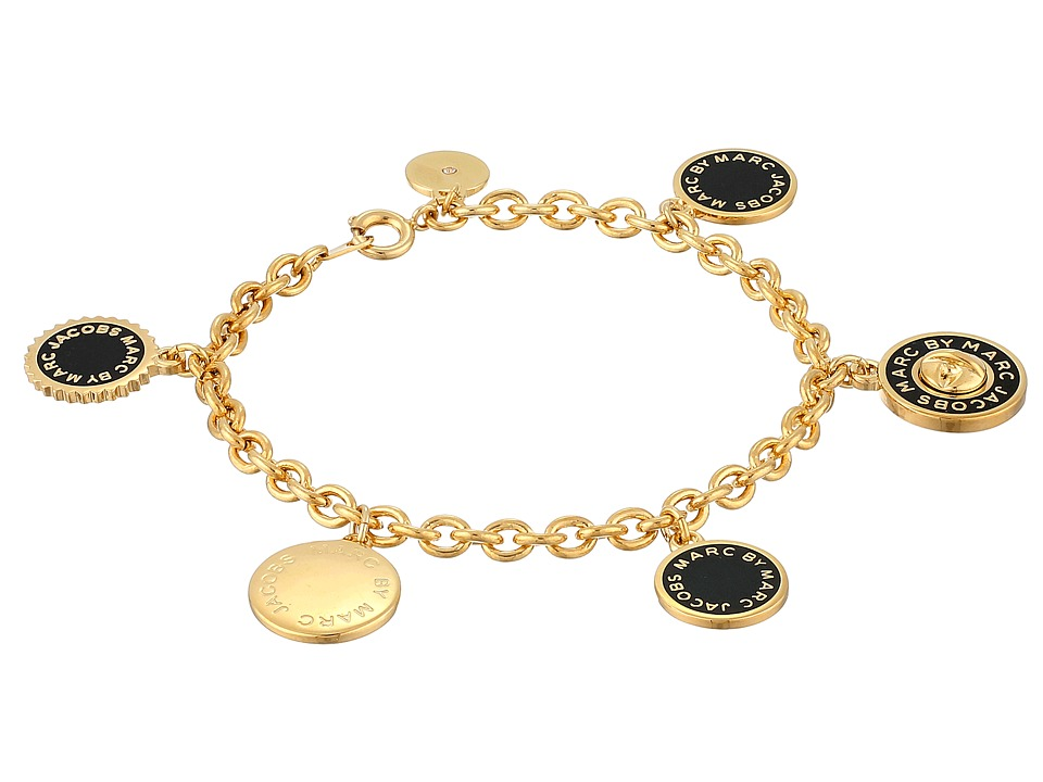 Marc by Marc Jacobs - Collected Charms Bracelet (Black) Bracelet