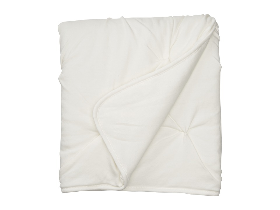 lolli LIVING - Living Textiles Jersey Pintuck Comforter (White) Sheets Bedding