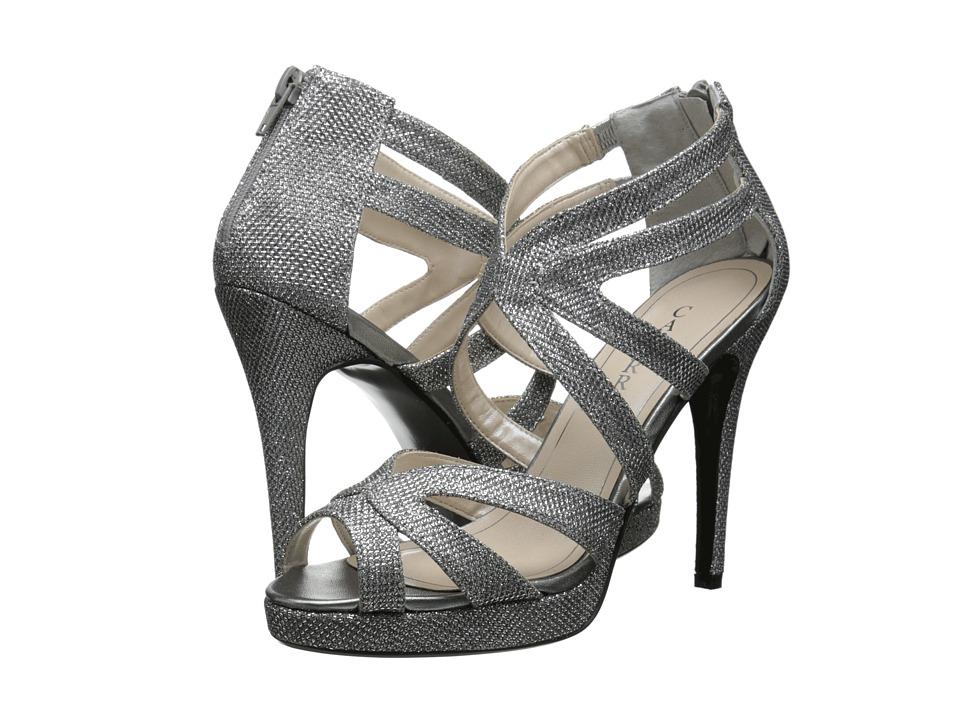 Caparros Priscilla (Silver Sparkle) High Heels