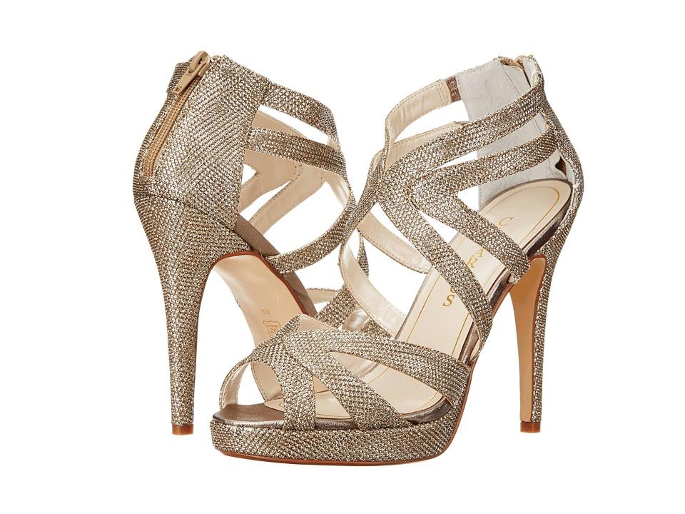 Caparros - Priscilla (Champagne Sparkle) High Heels