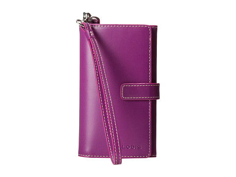Lodis Accessories - Audrey Cassie Cell Case with Wristlet (Raisin/Orchid) Wallet Handbags