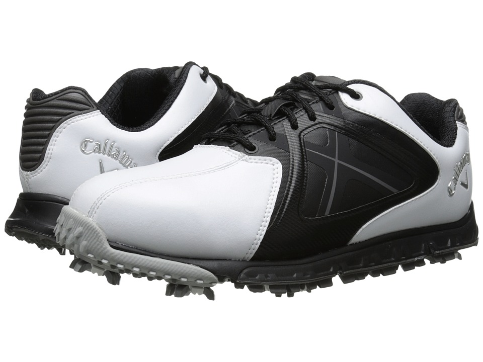 Callaway - Xfer Sport (White/Black) Men's Golf Shoes
