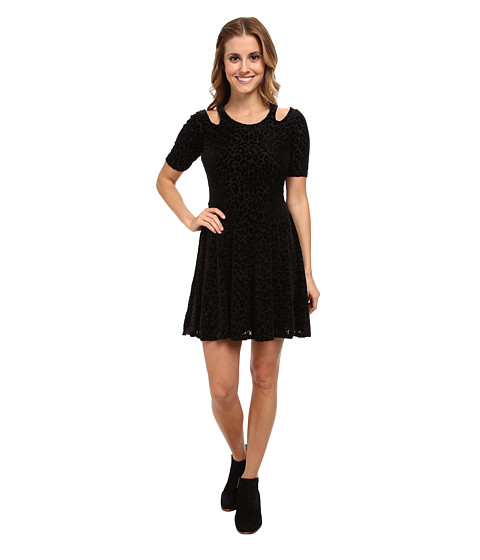 Element - Magnolia S/S Dress (Black) Women's Dress