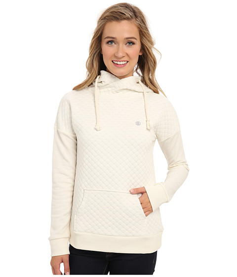 Element - Sedra Pullover Hoodie (Natural) Women's Long Sleeve Pullover