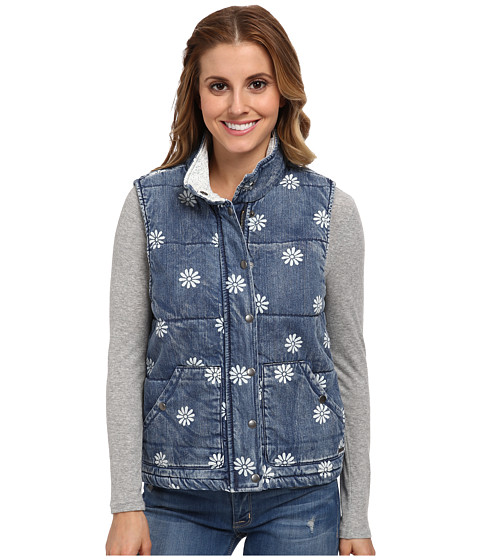 Element - Bonnie Denim Vest (Vintage) Women's Vest