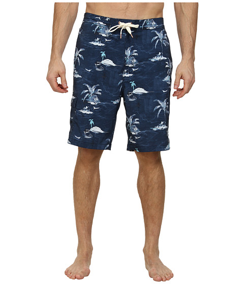 Tommy Bahama Big & Tall - Big Tall The Bahama Boardshort (Ocean Deep) Men's Swimwear