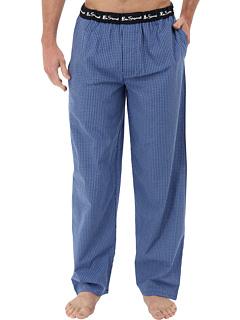 SALE! $17.99 - Save $22 on Ben Sherman Mini Check Lounge Pant (Blue) Apparel - 55.03% OFF $40.00