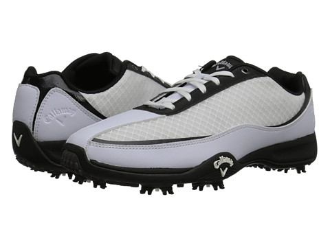 Callaway - Chev Aero (White/Black 2) Men's Golf Shoes