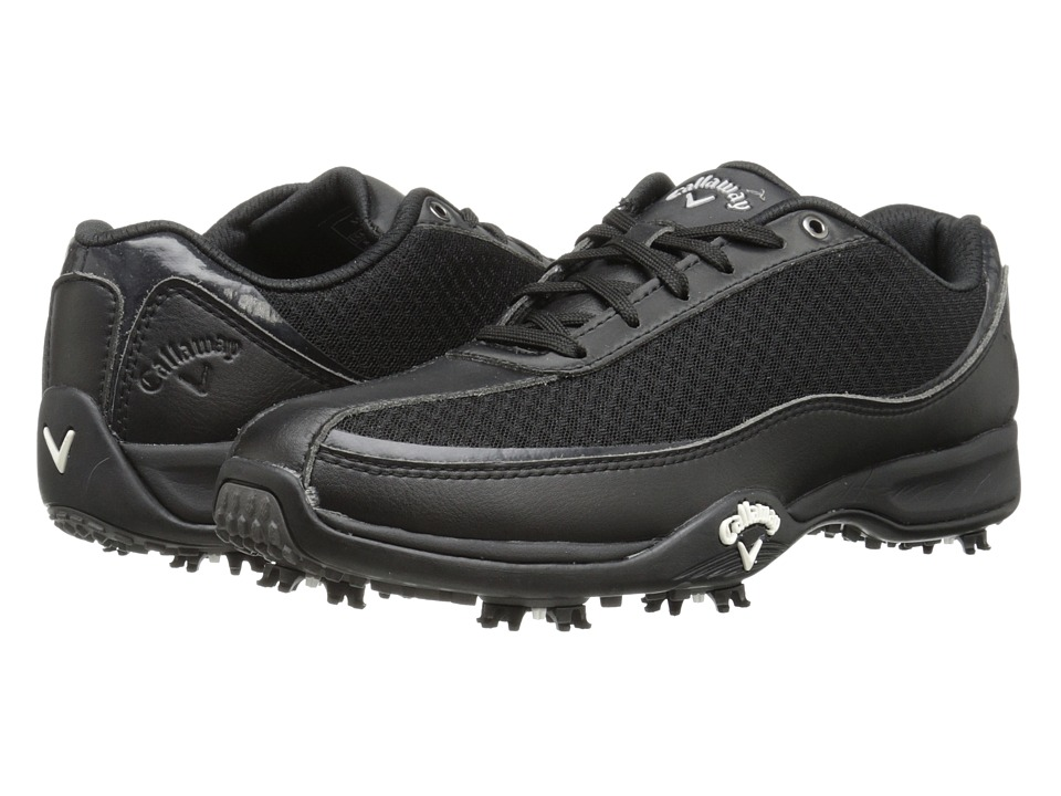 Callaway - Chev Aero (Black/Black 2) Men's Golf Shoes