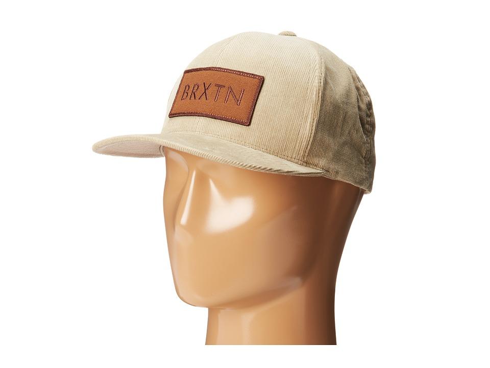 Brixton - Rift (Khaki) Baseball Caps