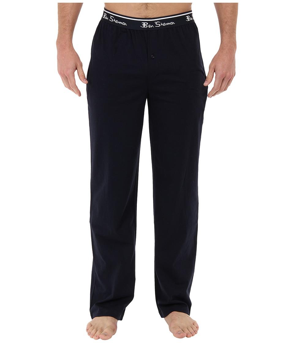 Ben Sherman - Solid Knit Lounge Pant (Navy) Men