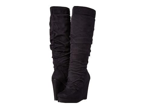 Michael Antonio - Eastin-Sue (Black Micro) Women's Pull-on Boots