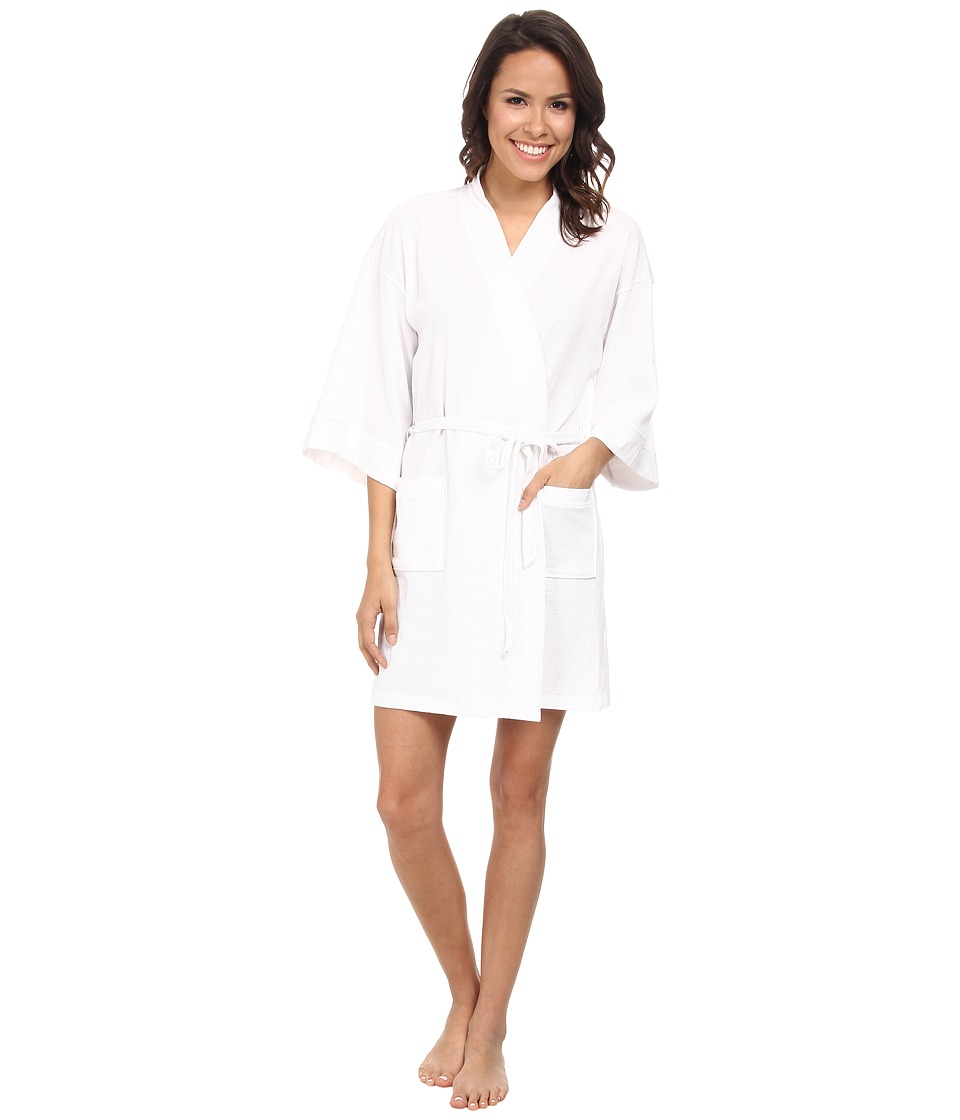 N by Natori - N Natori Aura Robe 35 (White) Women's Robe