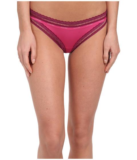 Calvin Klein Underwear - Perfectly Fit Signature Bikini w/ Lace (Pink Shock) Women