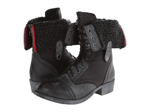 VOLATILE - Stanton (Black) Women's Lace-up Boots