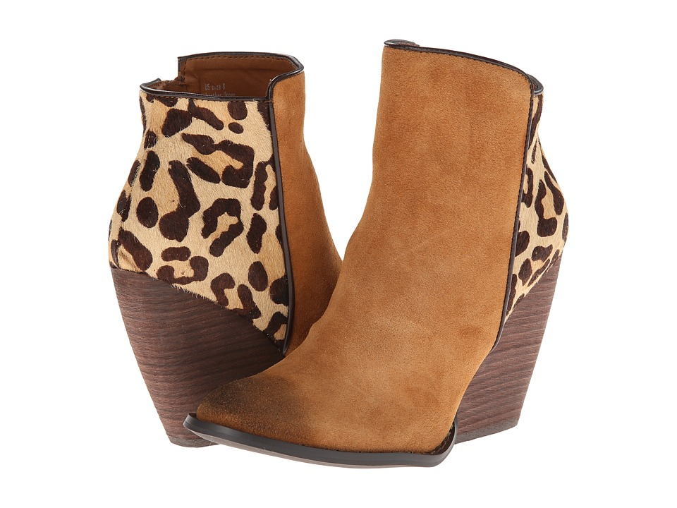VOLATILE - Chatter (Tan/Leopard) Women's Dress Zip Boots