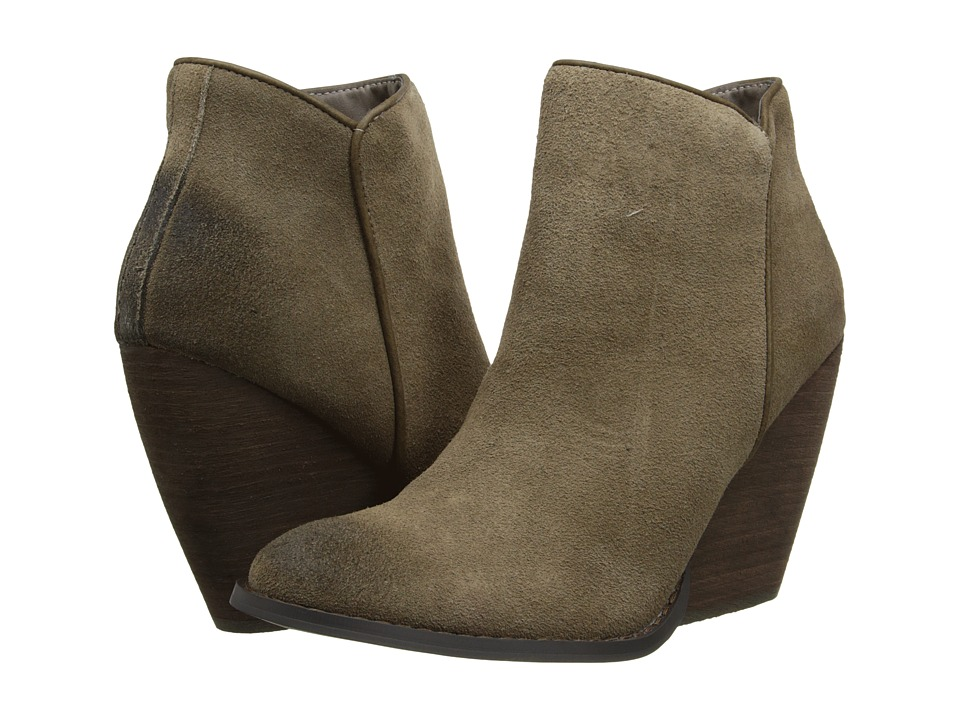 VOLATILE - Whitby (Khaki) Women's Zip Boots