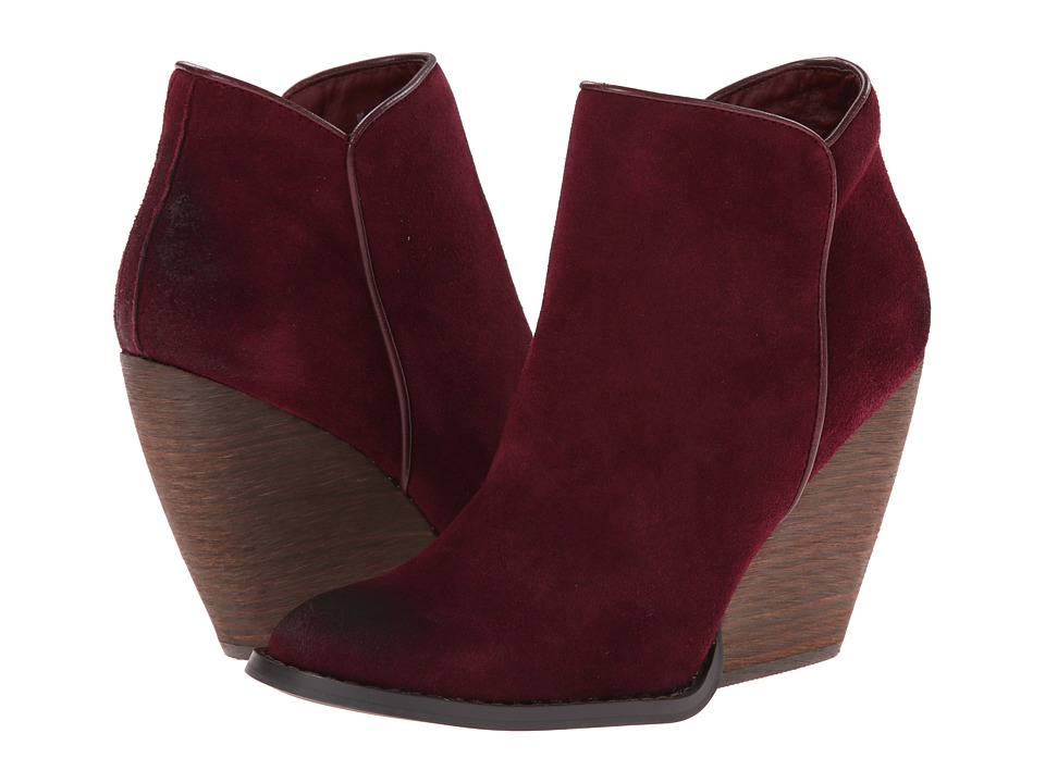 VOLATILE - Whitby (Wine) Women's Zip Boots