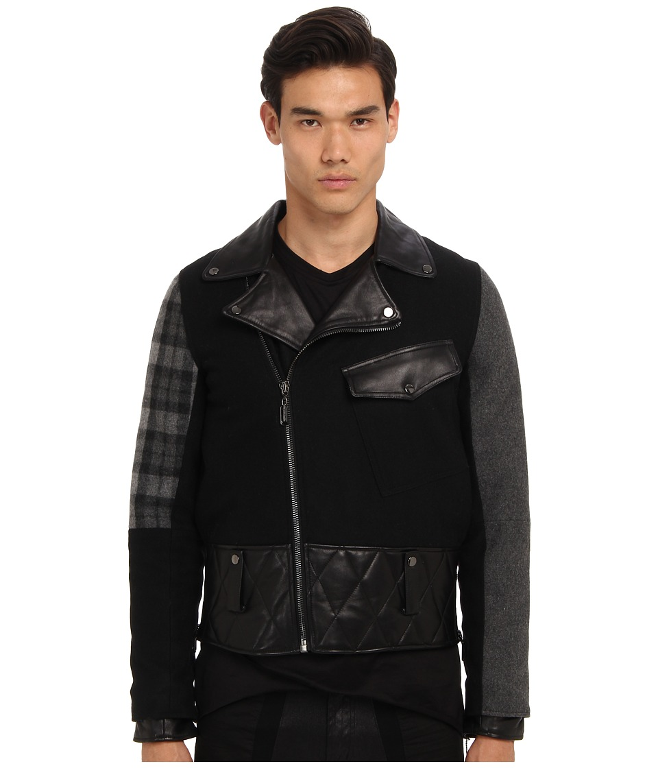 PRIVATE STOCK - The Carnage Jacket (Black/Grey/Plaid) Men's Jacket