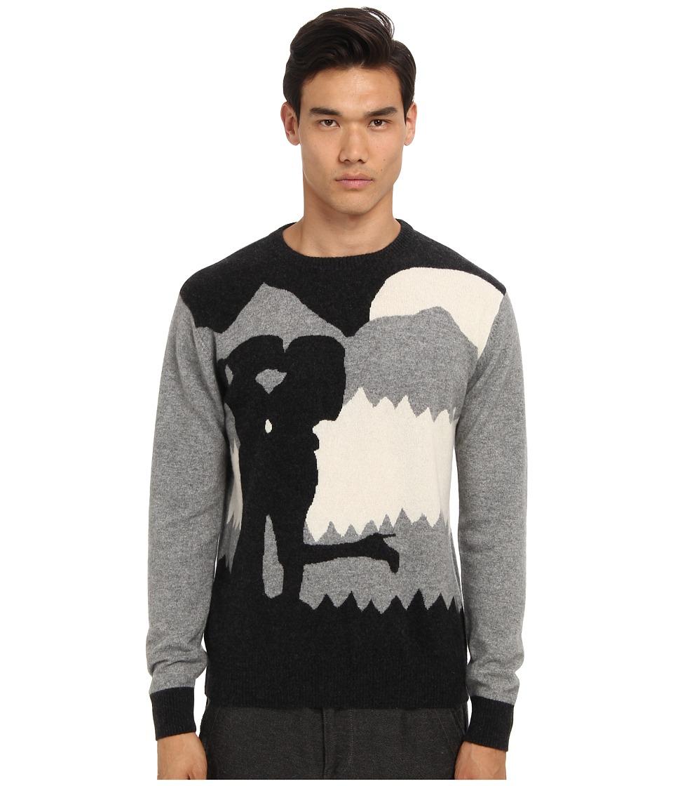PRIVATE STOCK - The Mystique Sweater (Multi Light Grey) Men