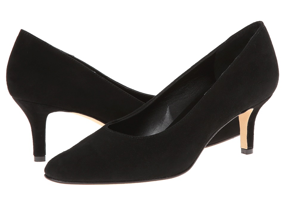 Vaneli - Laureen (Black Suede) High Heels