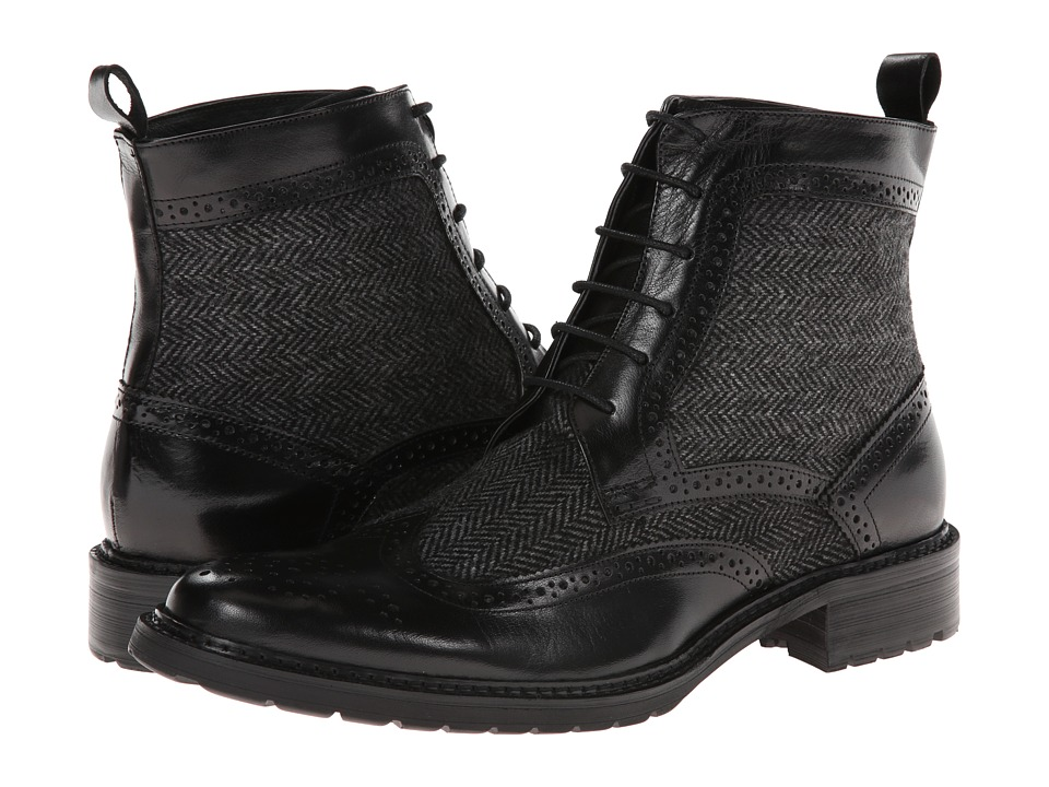 PRIVATE STOCK - The Desaad Boot (Black/Grey) Men's Shoes