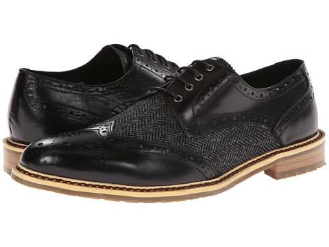 PRIVATE STOCK - The Desaad Shoe (Black/Grey) Men's Shoes