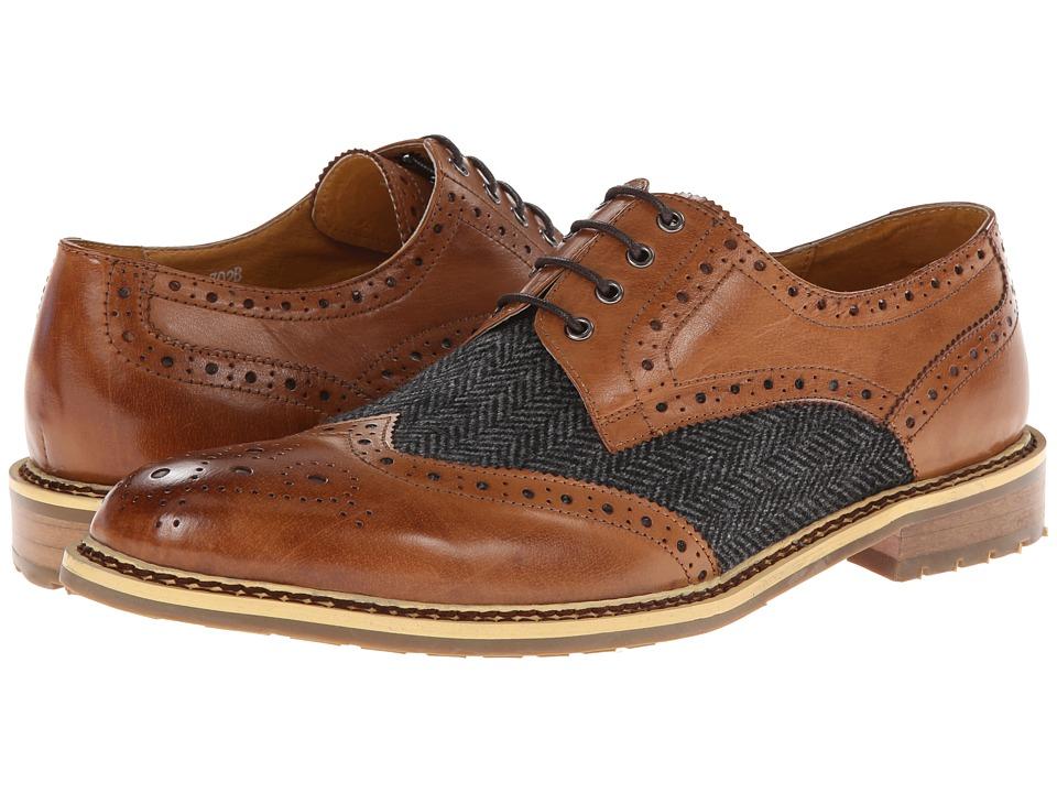 PRIVATE STOCK - The Desaad Shoe (Cognac/Grey) Men