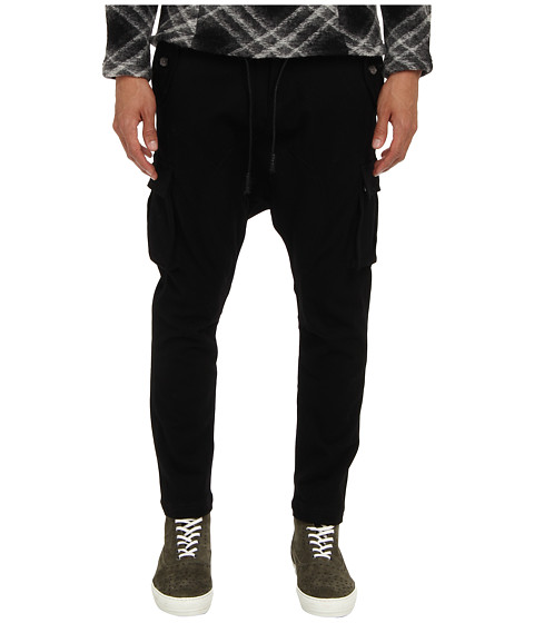 PRIVATE STOCK - The Venom Pant (Black Grey Plaid) Men's Casual Pants