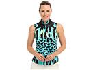 Jamie Sadock Rainforest Sleeveless Top (Atlantis)