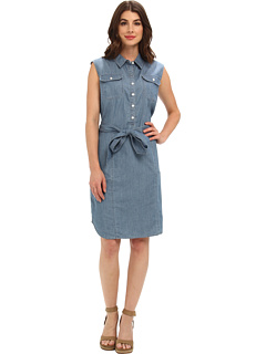 SALE! $37.99 - Save $61 on Jones New York Sleeveless Pop Over Dress (Laguna) Apparel - 61.63% OFF $99.00