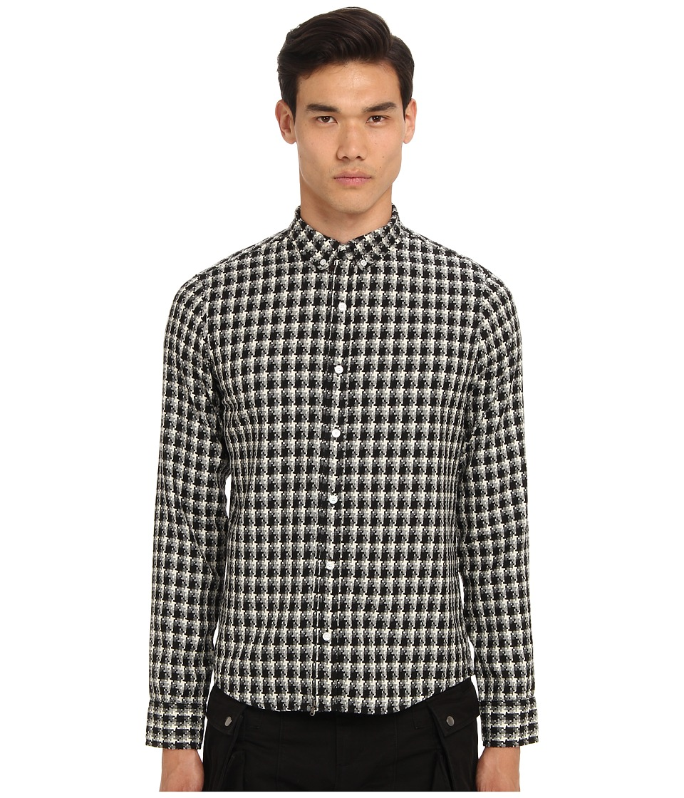 PRIVATE STOCK - The Jigsaw Shirt (White/Black) Men's T Shirt