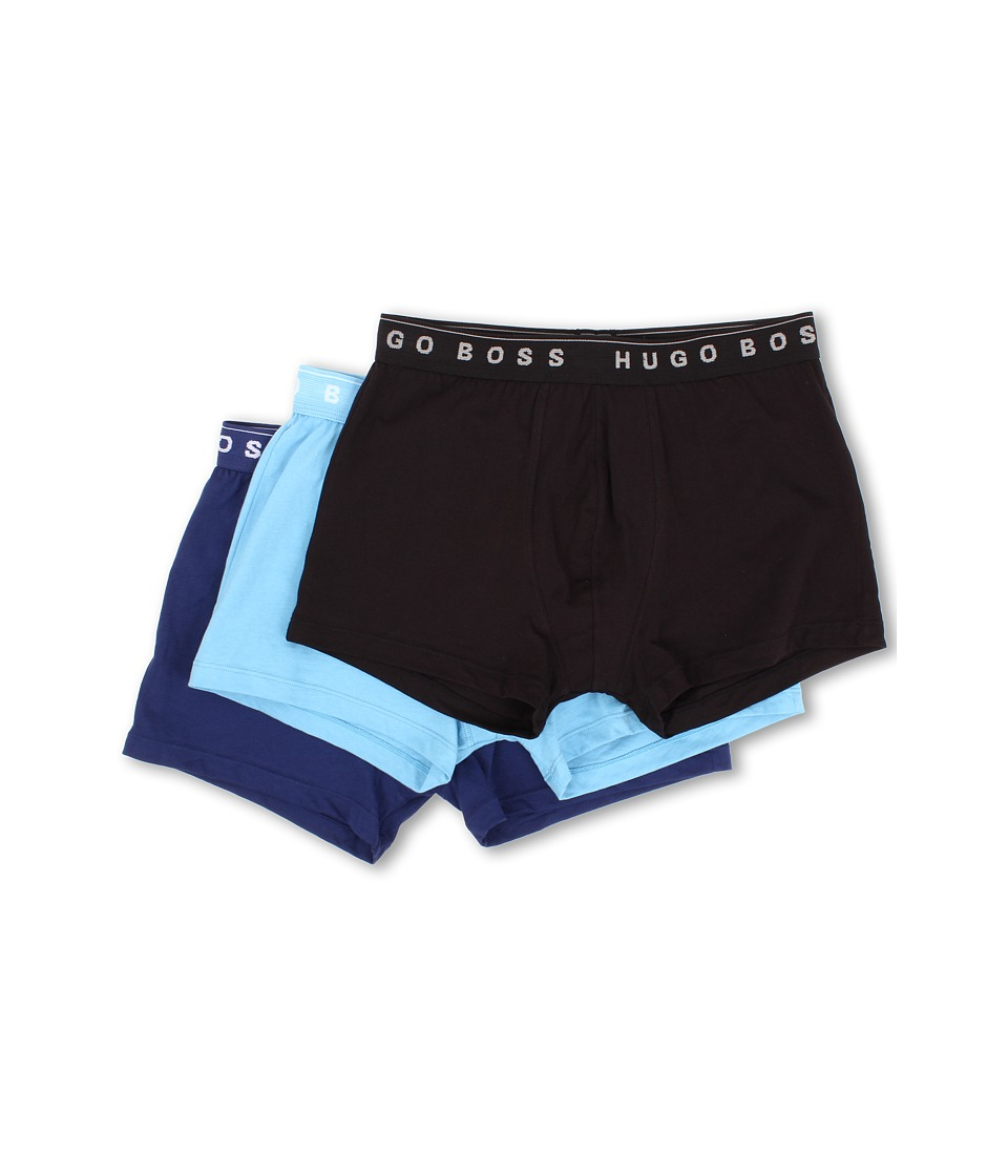 BOSS Hugo Boss - Boxer BM 3-Pack (Black/Light Blue/Royal Blue) Men's Underwear