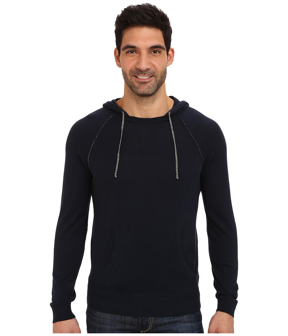 Culture Phit - Dave Brushed Hoodie (Navy Combo) Men