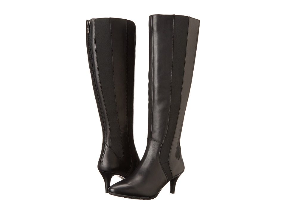 Tahari - Fiore Wide Calf (Black) Women's Boots