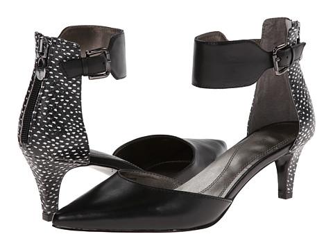 Tahari - Ande (Black/Black/Ivory) High Heels