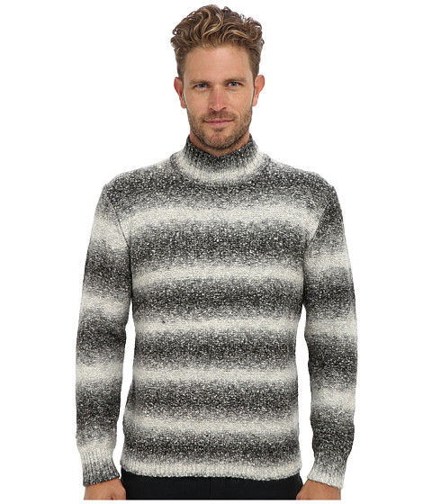 Culture Phit - Space Dyed Turtleneck Sweater (Salt & Pepper) Men's Sweater