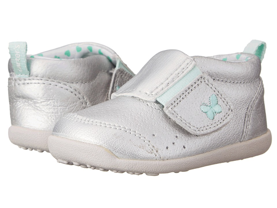 Carters - Every Step Eve Stage 3 (Silver) Girl's Shoes