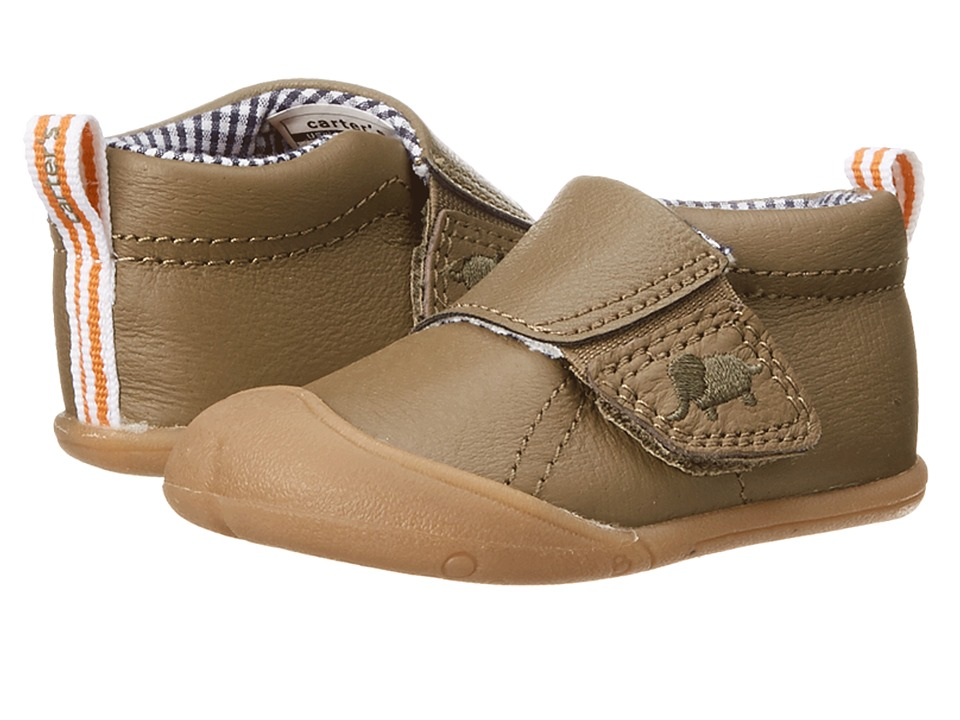 Carters - Every Step Andy Stage 1 (Brown) Boy's Shoes