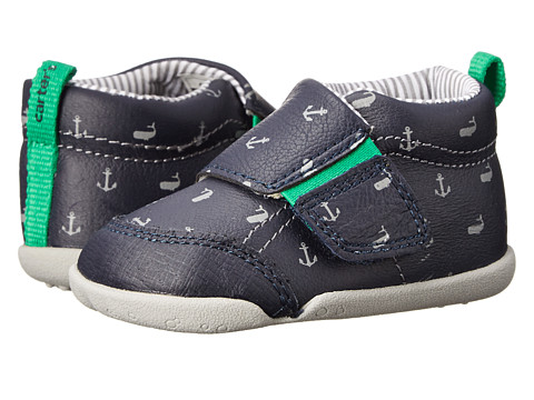 Carters - Every Step Bobby Stage 2 (Navy) Boys Shoes
