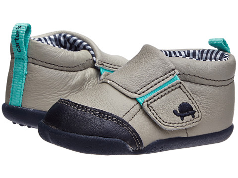 Carters - Every Step Bobby Stage 2 (Light Grey) Boys Shoes