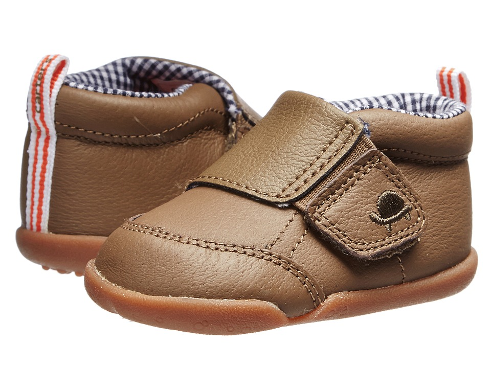 Carters - Every Step Bobby Stage 2 (Brown) Boys Shoes