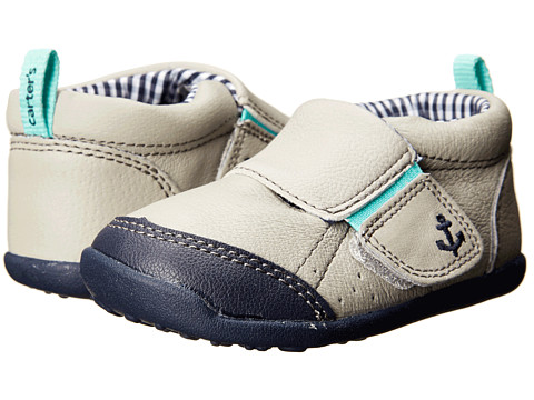 Carters - Every Step Charlie Stage 3 (Light Grey) Boy's Shoes