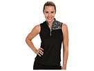 Jamie Sadock Costa Rica Sleeveless Top (Chrome/Terra)
