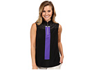Jamie Sadock Marina Sleeveless Top (Jet Black)