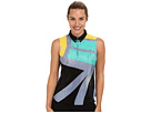 Jamie Sadock Kodachrome Sleeveless Top (Mystic Blue)