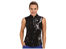 Jamie Sadock Starship Sleeveless Top (Jet Black)